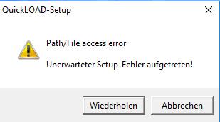 quickload_windows_10_fehler_0