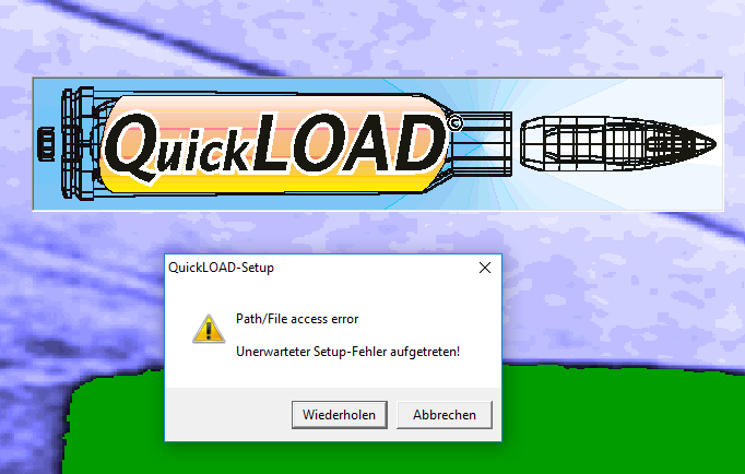 quickload_windows_10_fehler_1