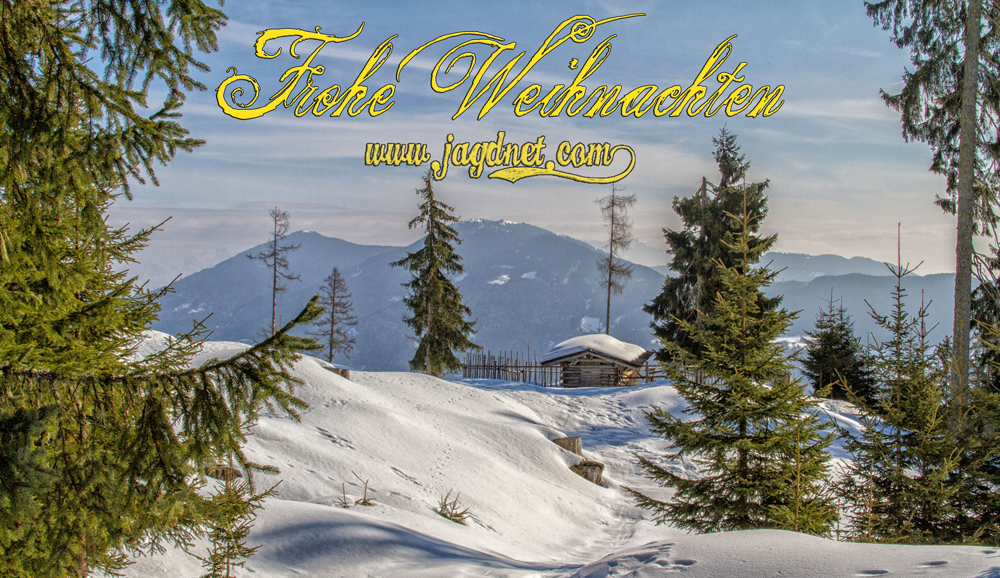 Weihnachtsgrüße Jagdlich.Frohe Weihnachten Jager