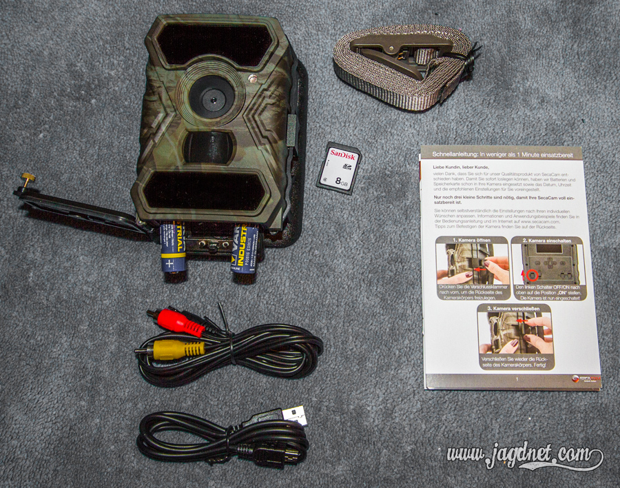 Test: Wildkamera SecaCam Raptor   Jagdnet.com